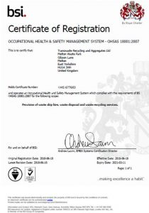 health n safety cert